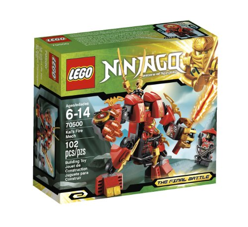 LEGO Ninjago Kais Fire Mech 70500 (Discontinued by manufacturer) -