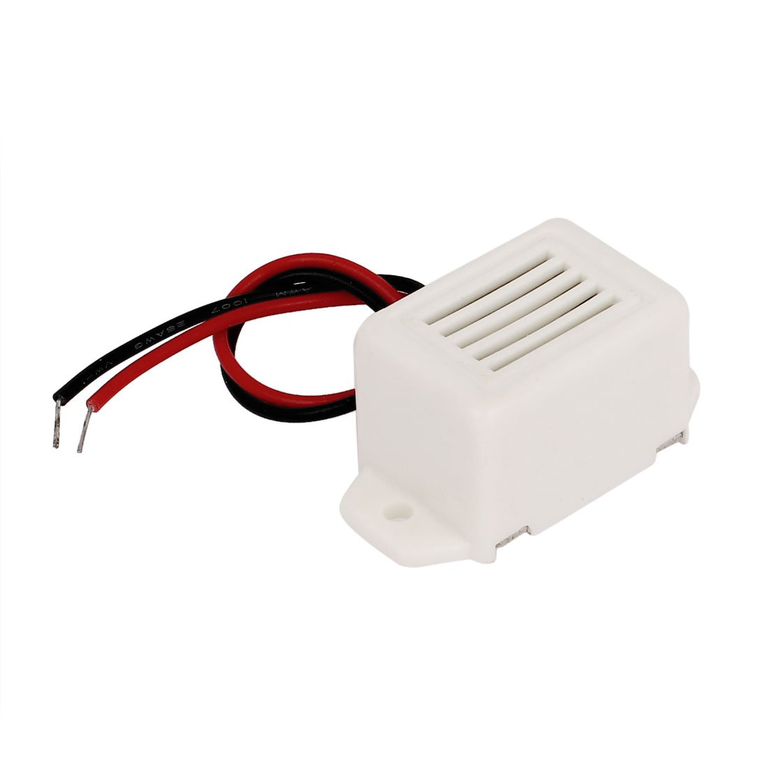 uxcell DC 3V Miniature Electronic Effect Tone Sounder Alarm Buzzer Beep White