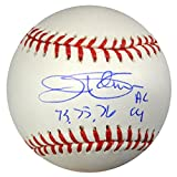 "Jim Palmer Autographed Official MLB Baseball Baltimore Orioles ""73,75,76 AL CY"" PSA/DNA Stock #89872"