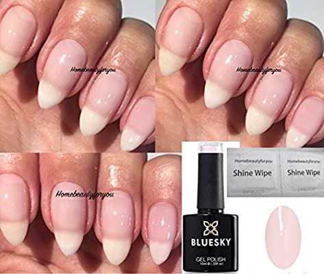 Esmalte De Uñas En Gel De Bluesky Color Rosa Pastel A68