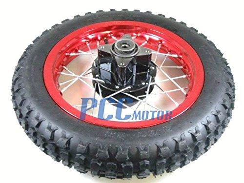 Piranha 12 Piranha Pit Bike Rear Wheel Rim Tire