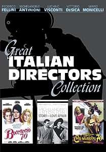 Great Italian Directors Collection (4-Disc Set) [Boccaccio '70, Casanova '70, Story of a Love Affair]
