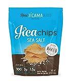 JicaChips Jicama Chips, Sea Salt, 8 Pack, BAKED, Paleo, Gluten Free, Vegan