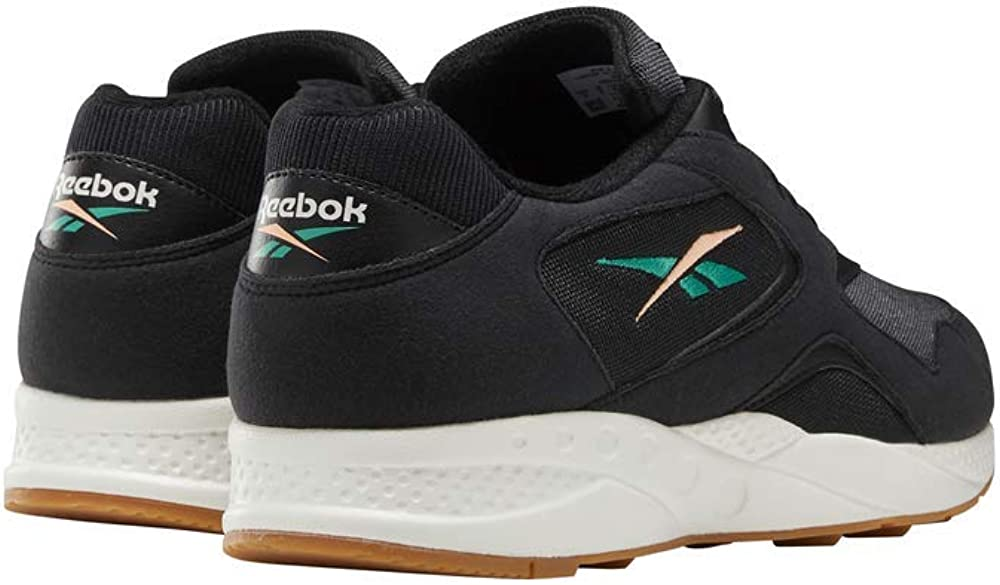 Reebok Torch Hex, Basket Mixte Craie Noire Émeraude Sunglow