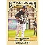 Baseball MLB 2011 Gypsy Queen #105 Chris Carter Athletics