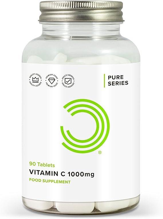 Bulk Powders 1000mg Vitamin C - Pack of 90 Tablets