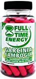 Full-Time-Energy-Garcinia-Cambogia-Plus-Raspberry-Ketones-and-Green-Coffee-Bean-Extract-Weight-Loss-Supplement-60-Capsules