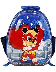 SMJM Students Shoulder Bag 15 Inch Lightweight Bookbag for Boys and Girls