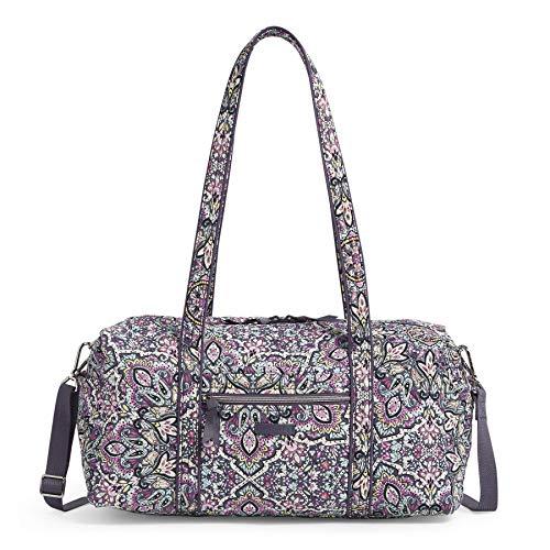 Vera Bradley Signature Cotton Travel Duffel Bag, Bonbon Medallion
