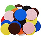 Playfully Ever After 4 Inch Mixed Color Assortment 44pc Stiff Felt Circles