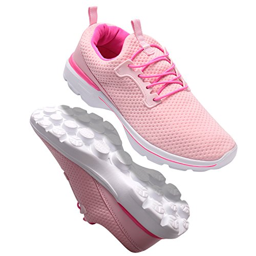 Walking Shoes Pink Fashion Lightweight Women's Casual Sneakers Running shoes 10Fq76
