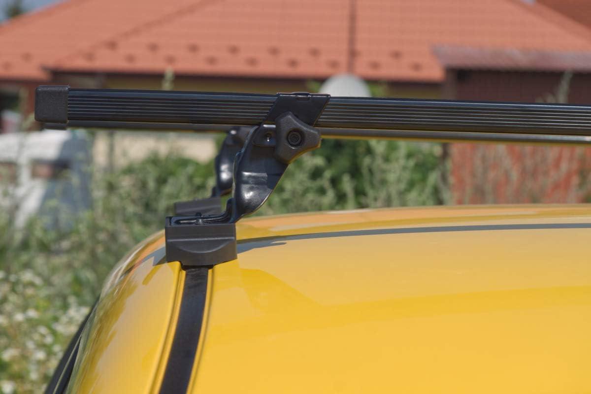 Supra Stahldachtr/äger zur Montage an vorgegebene Befestigungspunkte des Fahrzeugs hochwertig