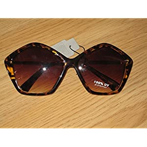 Octagon Shaped Sunglasses