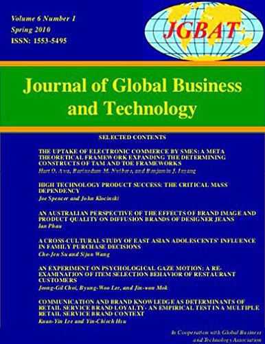 Journal of Global Business & Technology PDF
