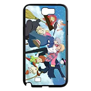 Samsung Galaxy Note 2 Black phone case Howl's Moving Castle IKL3035001