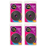 Magnet Tape Adhesive Strip Roll (Set of 4)
