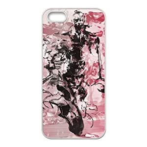 Metal Gear Solid iPhone 5 5s Cell Phone Case White xlb2-329066