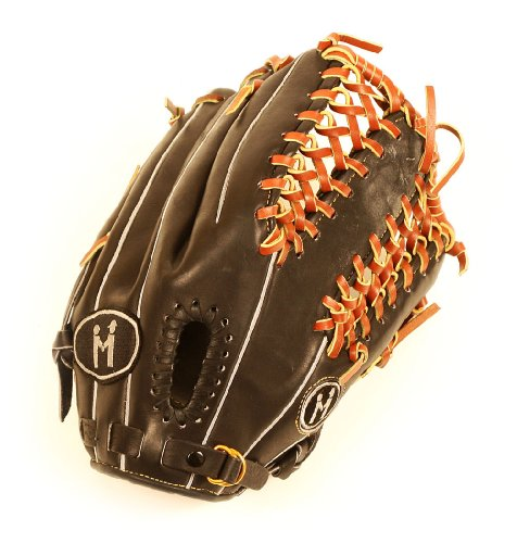 MPowered Baseball Platinum Series Trapeze Web Outfield Baseball Glove, 12 (12.75