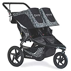 With the two-seat BOB Revolution FLEX 3.0 DUALLIE jogging stroller, you can take both kids on any outing-whether Prepping for a 10K or heading out for a day at the zoo. The suspension system and air-filled tires keep you running smoothly and ...