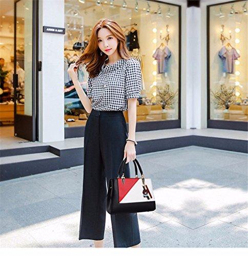 Gqfgyyl Main Black La Nouveau Sac L'épaule Seul À Pour Mode UrPUqB