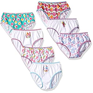 Trolls Girls Underwear, Assorted Prints, 7 Pack