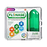 Flonase Allergy Relief Nasal Spray Twin Pack 2 X 120=240 Metered Sprays