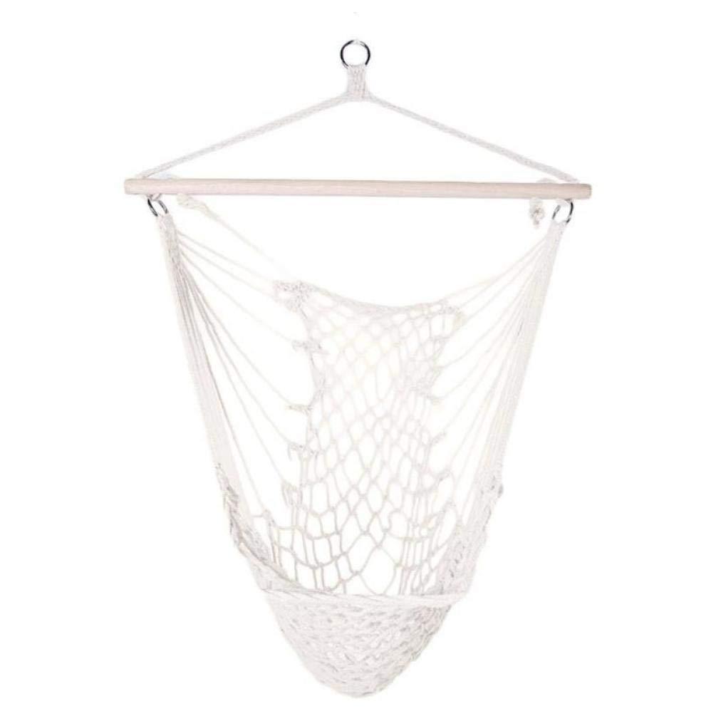 Cotton Mesh Outdoor Corda Amaca Swing Netto sedie sospese per Bambini Adulti allaperto Culle Giardino della casa Amache