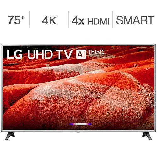 LG 75″ 75UM8070PUA 4K Ultra HD Smart LED TV (2019)