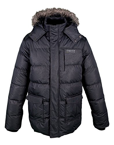 anthracite Winter Active Men's Parka Jacket DEPROC grey vYp17x7w