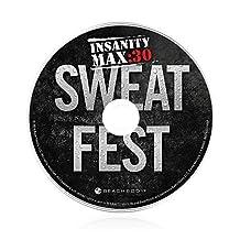 Shaun T's INSANITY MAX:30 Sweat Fest Workout DVD