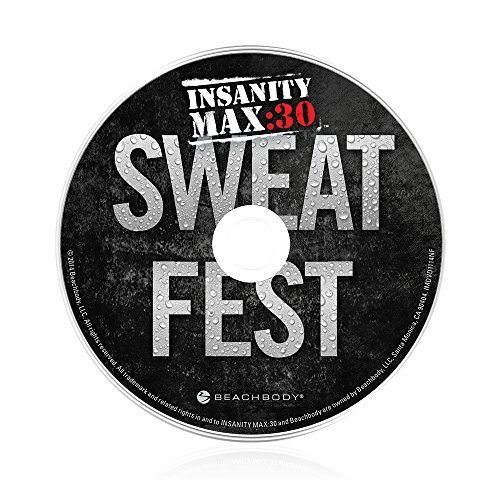 Shaun T's Insanity MAX:30 Sweat Fest Workout DVD for sale  Delivered anywhere in Canada