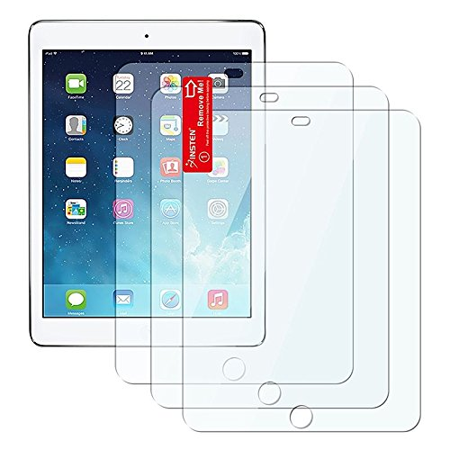 Insten 3-Pack Reusable Screen Protector Compatible With iPad Air 2 / Apple iPad Air / iPad 5