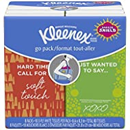 Kleenex Facial Tissues, 8 ct, (Pack of 24)