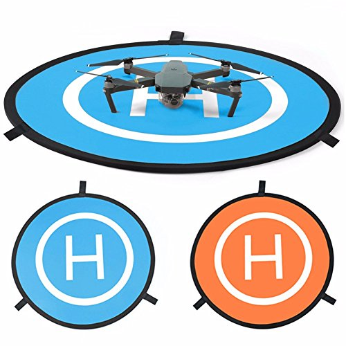 New-landing-pad-for-RC-drone-size-3075cm-Quadcopter-launch-pad-Helicopter-Mini-helipad-compatible-for-racing-drone-DJI-Mavic-inspire-1-2-phantom-2-3-4-pro-Parrot-GoPro-Karma-Fast-Fold