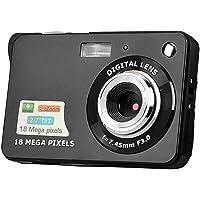 Andoer Câmera digital Mini câmera de bolso 18 MP 2.7 polegadas tela LCD 8x zoom captura de sorriso anti-vibração com…