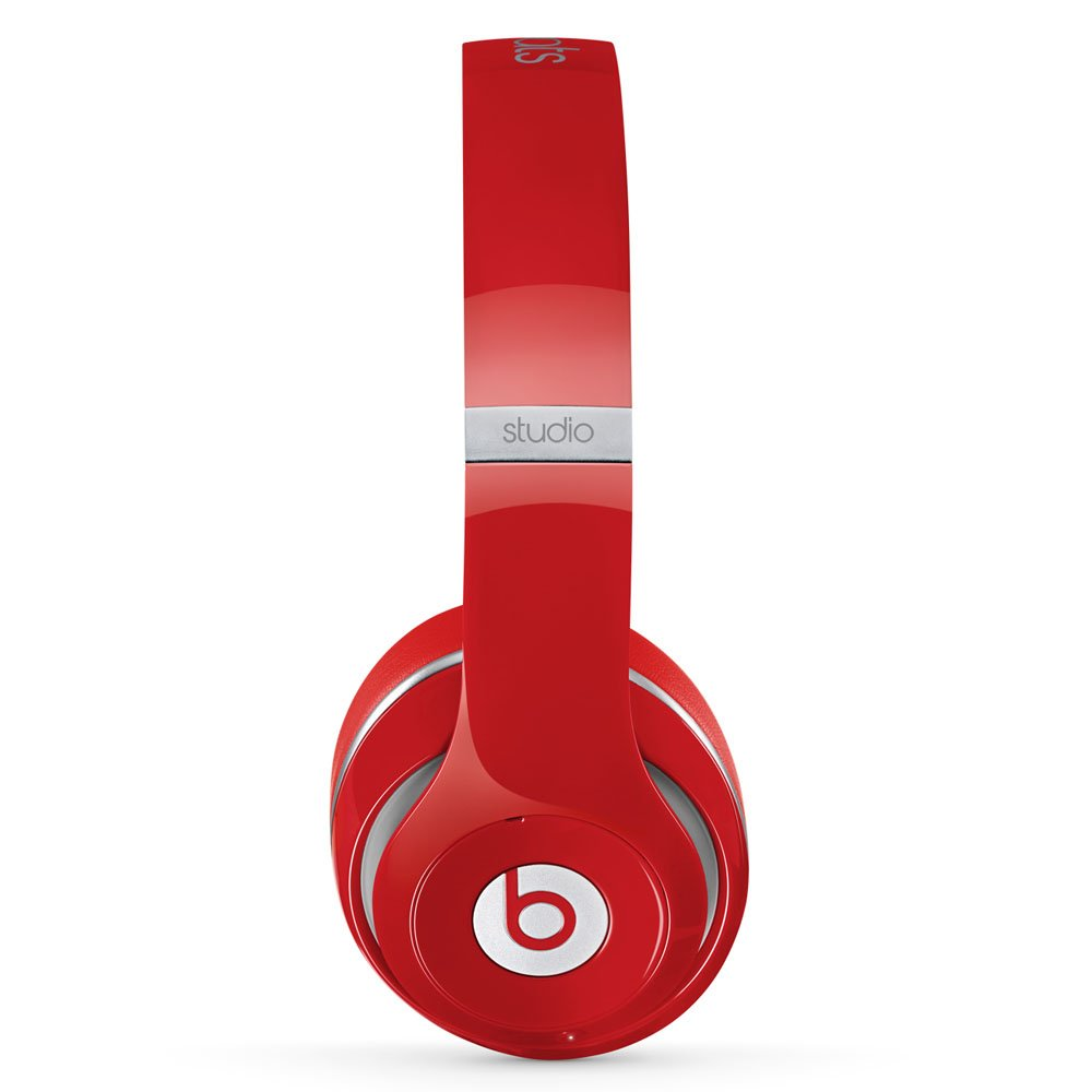 Beats Studio Wireless Over Ear Headphone Red Home Headset Musik Bluetooth Stereo S450 Audio Theater