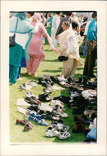 Vintage photo of Thetford Shoes galore