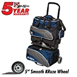 KR Strikeforce Apex 4 Ball Roller Bowling Bag, Navy