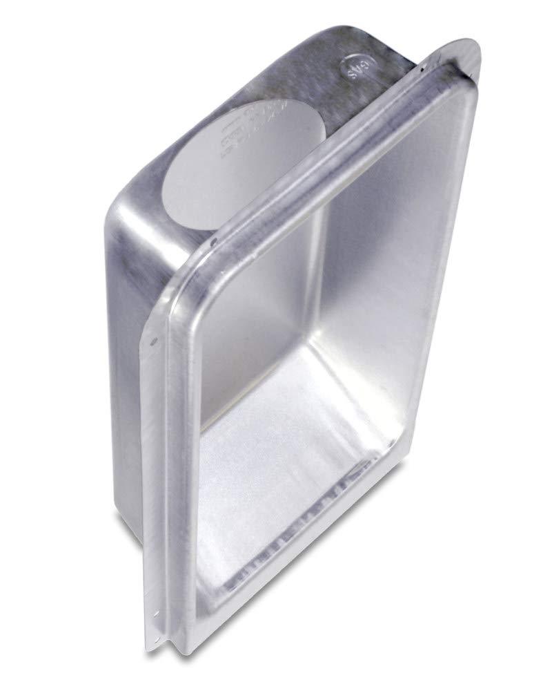 Dryerbox Model 350 DB-350 | New Construction 2x4 Walls - Venting up