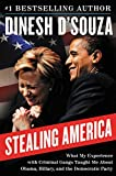 Book cover from Stealing America: What My Experience with Criminal Gangs Taught Me about Obama, Hillary, and the Democratic Partyby Dinesh DSouza