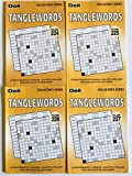 Volumes 224, 225, 226, and 227 of Tanglewords from Penny Press Selected Puzzle Series (Letterboxes)