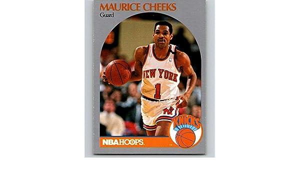 60bf60b6ddea Amazon.com  1990-91 Hoops Basketball  202 Maurice Cheeks New York Knicks   Collectibles   Fine Art