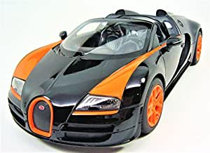 Radio remote control 1 14 bugatti veyron 16 4 for Motorized vehicles for 12 year olds