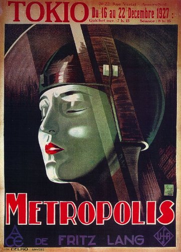 Metropolis Poster (11 x 17 Inches - 28cm x 44cm) (1926 ...