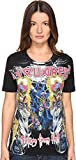 DSQUARED2 Women's renny Sisters From Hell Jersey T-Shirt Black Vintage Large