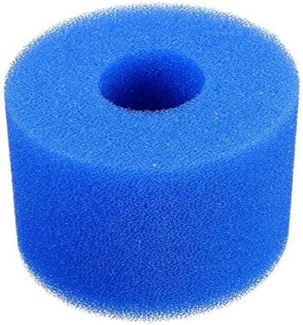 Bleu 9x10 cm Filtre /à /éponge Filtre de Piscine R/éutilisable//Lavable pour Spa Spa Filter Lomsarsh 10PCS Cartouches de Filtres de Piscine en Mousse