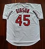 Bob Gibson Autographed Signed Jersey St Louis Cardinals JSA