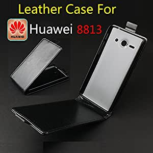 High Quality New Original HUAWEI C8813 Leather Case Flip Cover for HUAWEI C 8813 Case Phone Cover In Stock Free Shipping