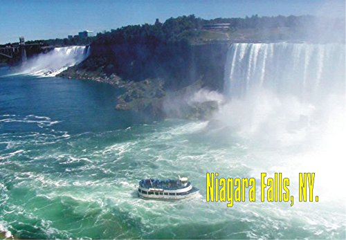Niagara Falls, New York, NY, State Park, Waterfall, Canada, Souvenir Magnet 2 x 3 Photo Fridge Magnet