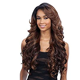 """FreeTress Equal Lace Deep Invisible""""L"""" Part Lace Front Wig – KARISSA"""